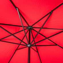 Load image into Gallery viewer, 11' Sunbrella® Aluminum Market Umbrella - Jockey Red