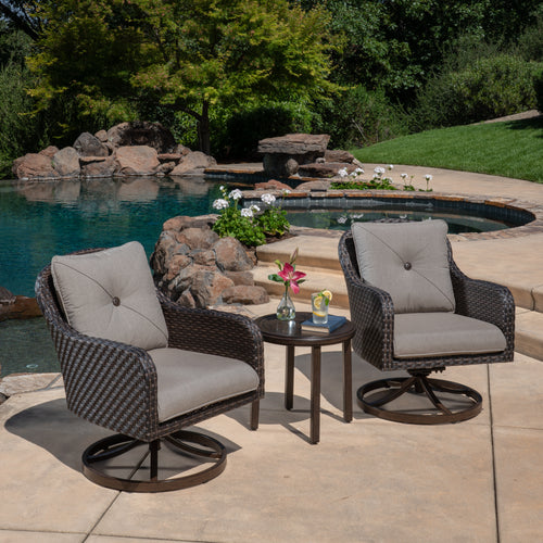 Alacantra 3-Piece Woven Seating Set
