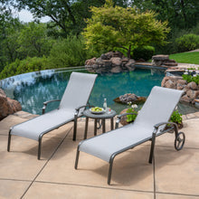 Load image into Gallery viewer, Westgate 3-Piece Sling Chaise Lounge Set