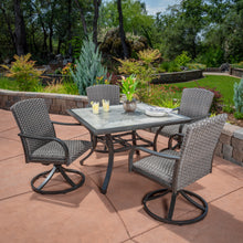Load image into Gallery viewer, Drexel 5-Piece Woven Dining Set