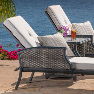 Lago Brisa 3-Piece Chaise Set