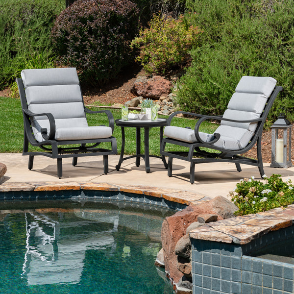 Monroe 3-Piece Balcony Set