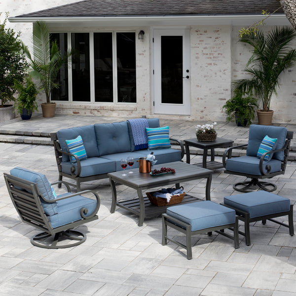Reserve 7-Piece Deep Seating Set Replacement Cushions