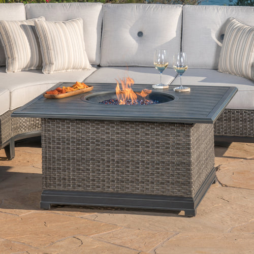 "Lago Brisa 46"" Fire Chat Table"