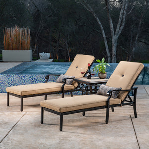 Verena 3-Piece Chaise Lounge
