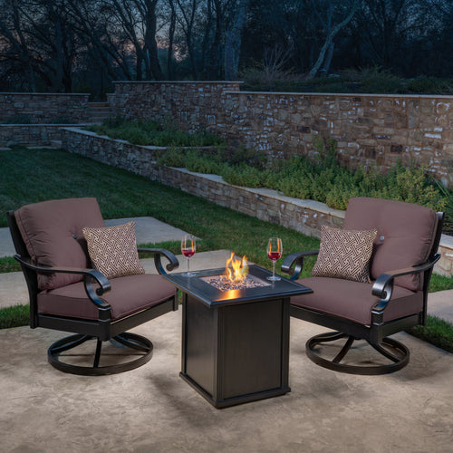 Verena 3-Piece Fire Chat Set
