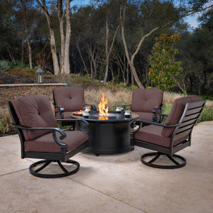 Verena 5-Piece Fire Chat Set
