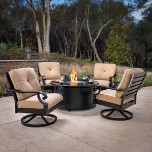 Verena 2pk Swivel Rocker Lounge Chairs