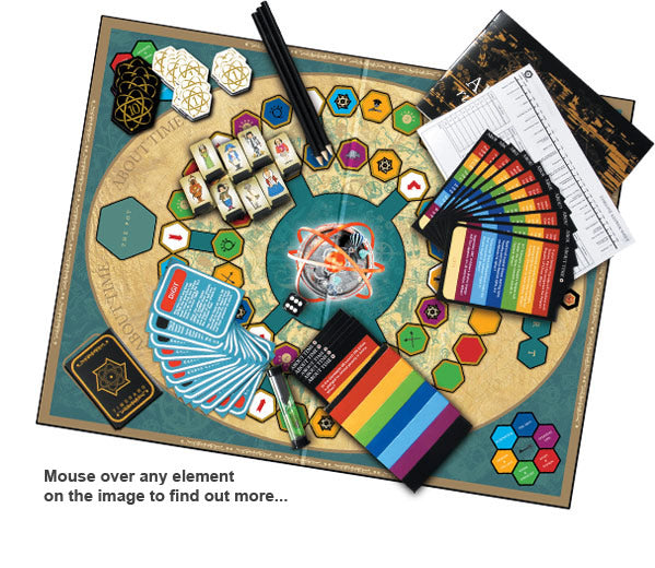 About Time Board Games parts