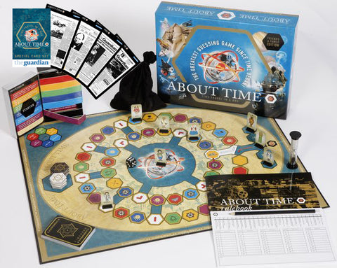 ABOUT TIME BOARD GAME GUARDIAN EDITION