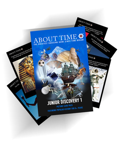 Junior Discovery Card Pack