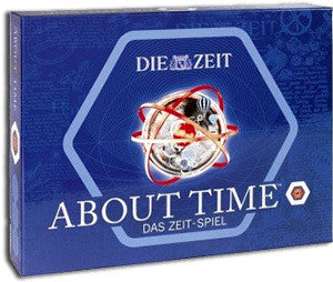 ABOUT TIME BOARD GAME: GERMAN EDITION