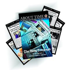 About Time Daily Telegraph Front Page Card Pack