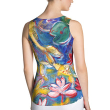 Load image into Gallery viewer, Body Hugging Tank Top - Blue Lagoon