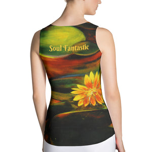 Body Hugging Tank Top - Time Passage