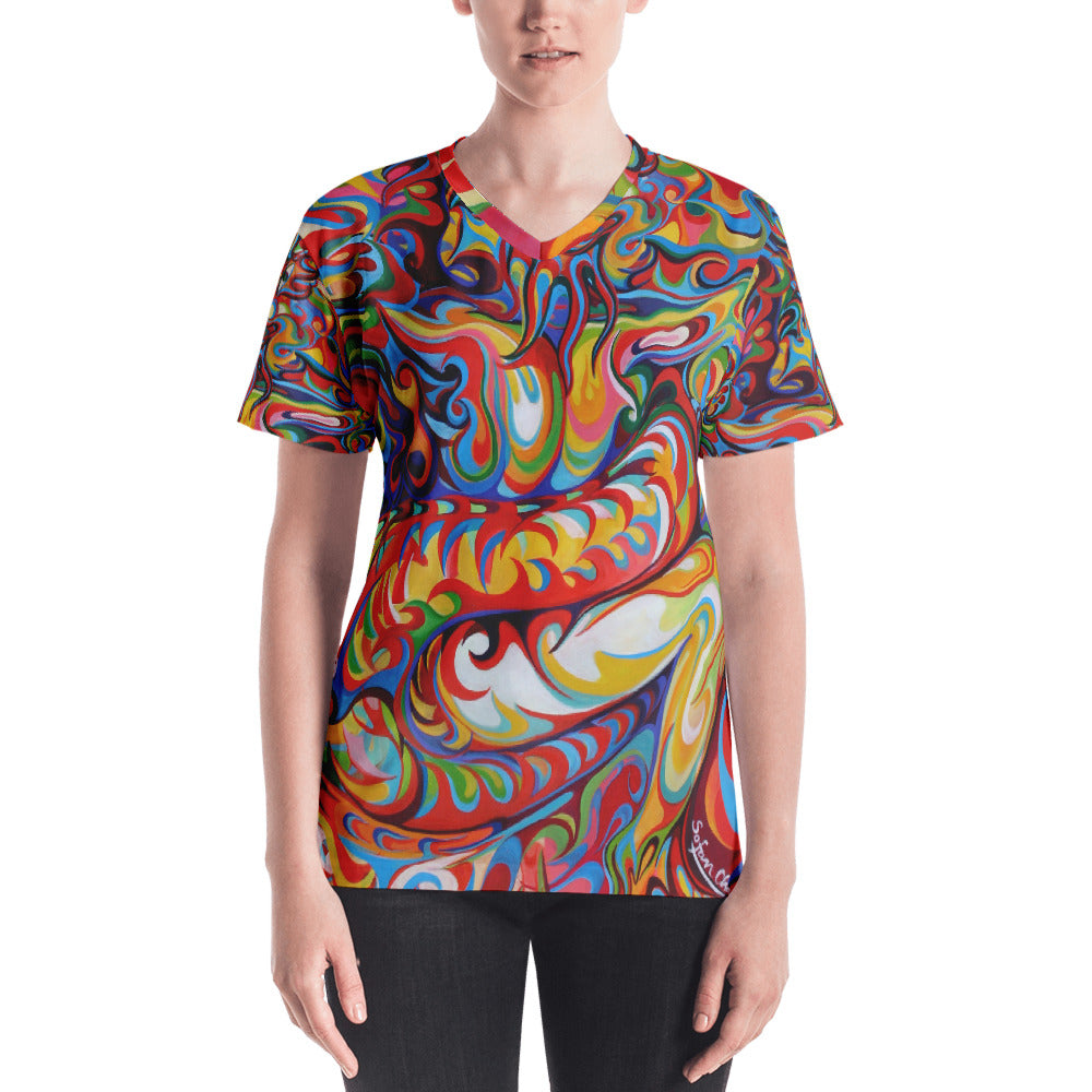 Snuggle Tight T-shirt - Dragon Man