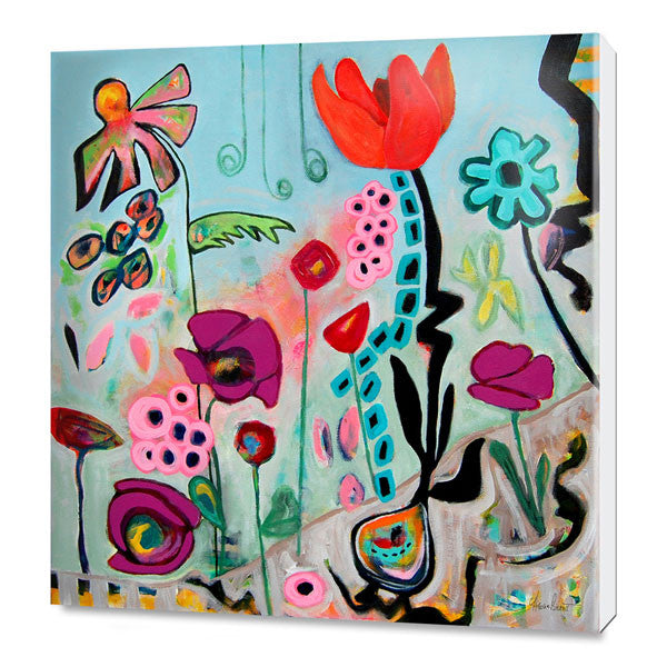 Sure Ground Abloom PRINT ON CANVAS