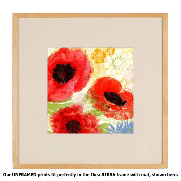 Poppies Painterly II