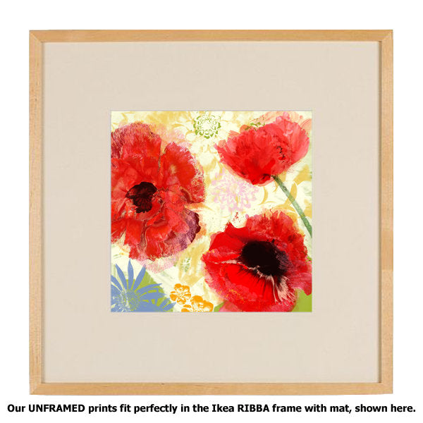 Poppies Painterly I