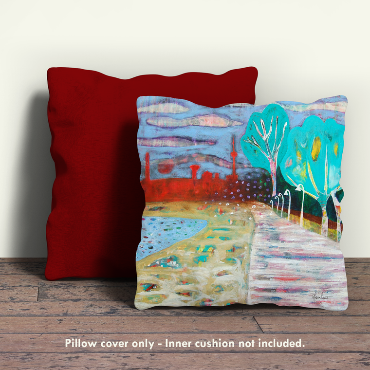 Boardwalk Pillow Cover