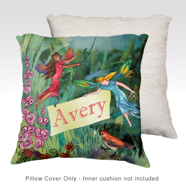 Fairies Personalized Pillow Cover