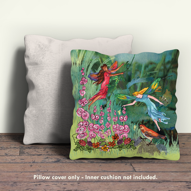 Fairies Pillow Cover