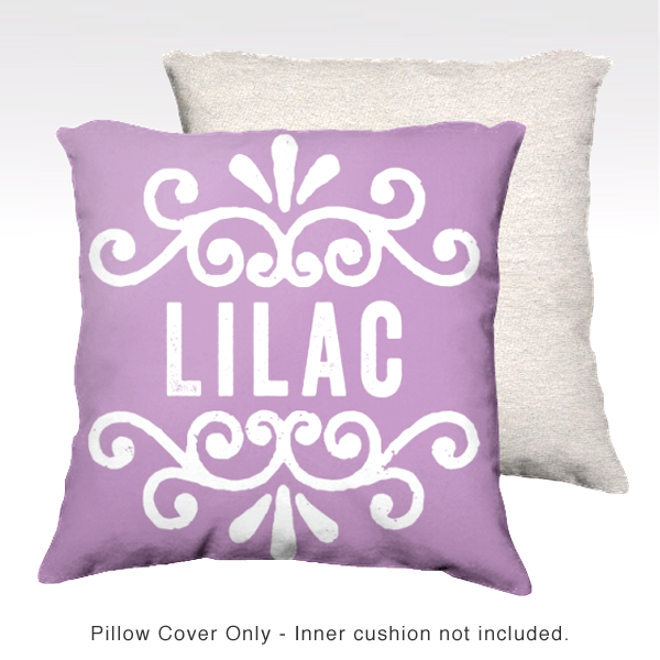 Family Pillow Cover - LILAC