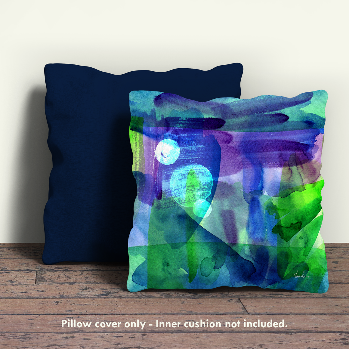 Many Moons Adrift Pillow Cover