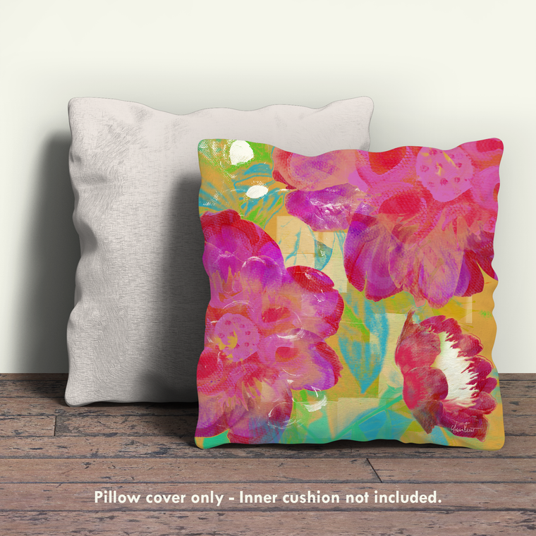 Peonies II Pillow Cover