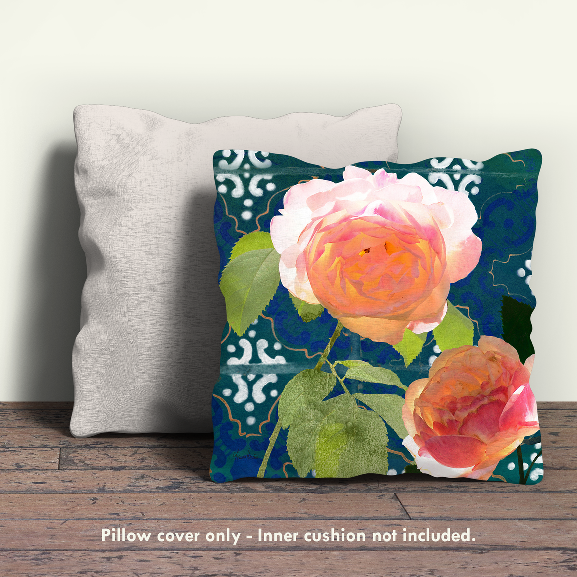 Ravello Roses 02 Pillow Cover