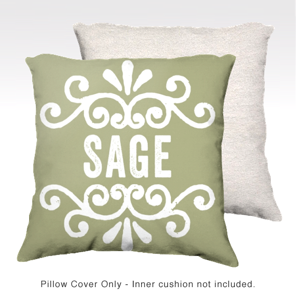 Family Pillow Cover - SAGE