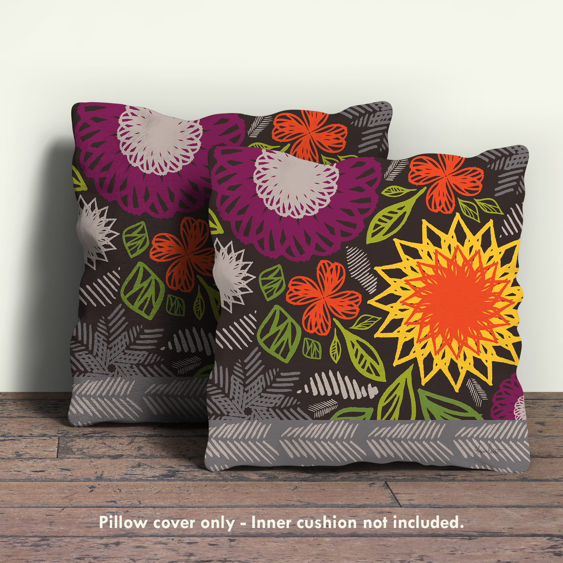 Spice Market Pillow Cover