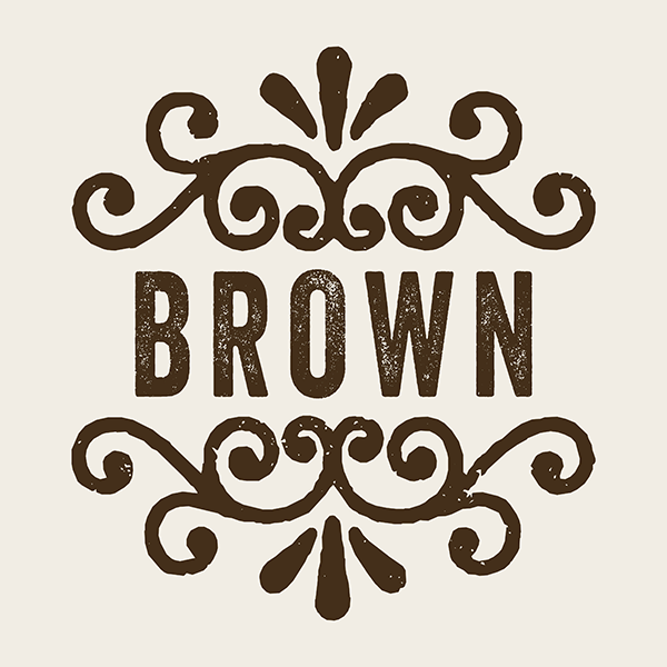 Family Pillow Cover - BROWN