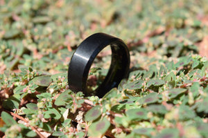 Faithful 8mm Black Tungsten Ring