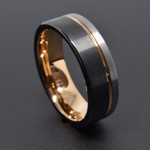 Potential 8mm Tri-Color Tungsten Ring