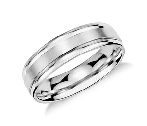 Modern - Mens Wedding Band elgntdesigns