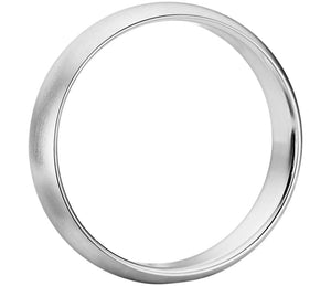 Classic Brushed - Mens Wedding Band elgntdesigns