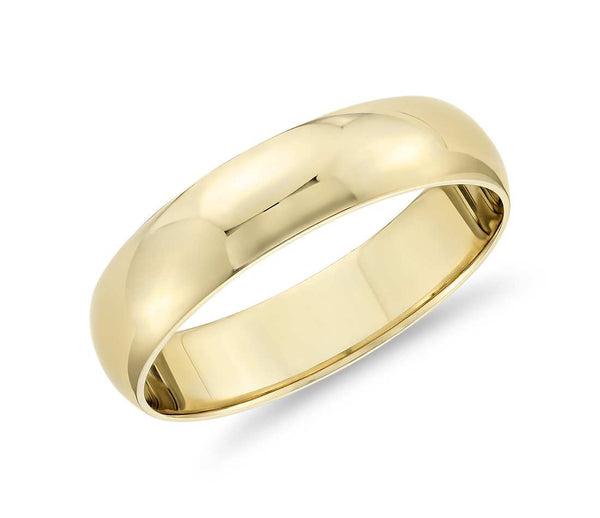 Classic - Mens Wedding Band elgntdesigns