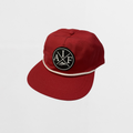 Attitude Is Free Circle Patch Rope Hat