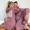 "Lauren and Arie ""Twinning"" Starts with Love Sweatsuit"
