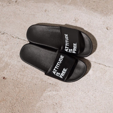 Men's Attitude Is Free® Slides