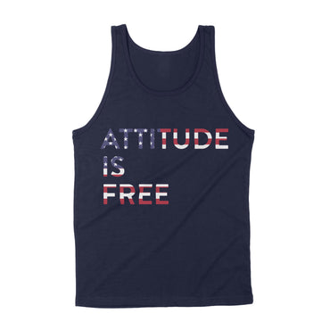 Men's American Flag Three Line Tank