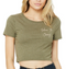 Women's Embrace the Journey Cropped Tee