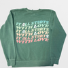 Lauren and Arie- His and Her Love Crewneck