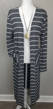 Load image into Gallery viewer, Ribbed Striped Cardigan