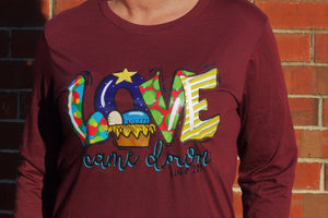 Love Came Down LS Tee