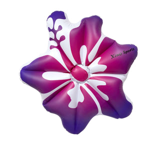 Xino Sports Deluxe Hibiscus Pool Floatie, Will Make Every Lady Look Like a Princess, Watch It Become Pool Party Favorite, Comes in Pink and Blue Color