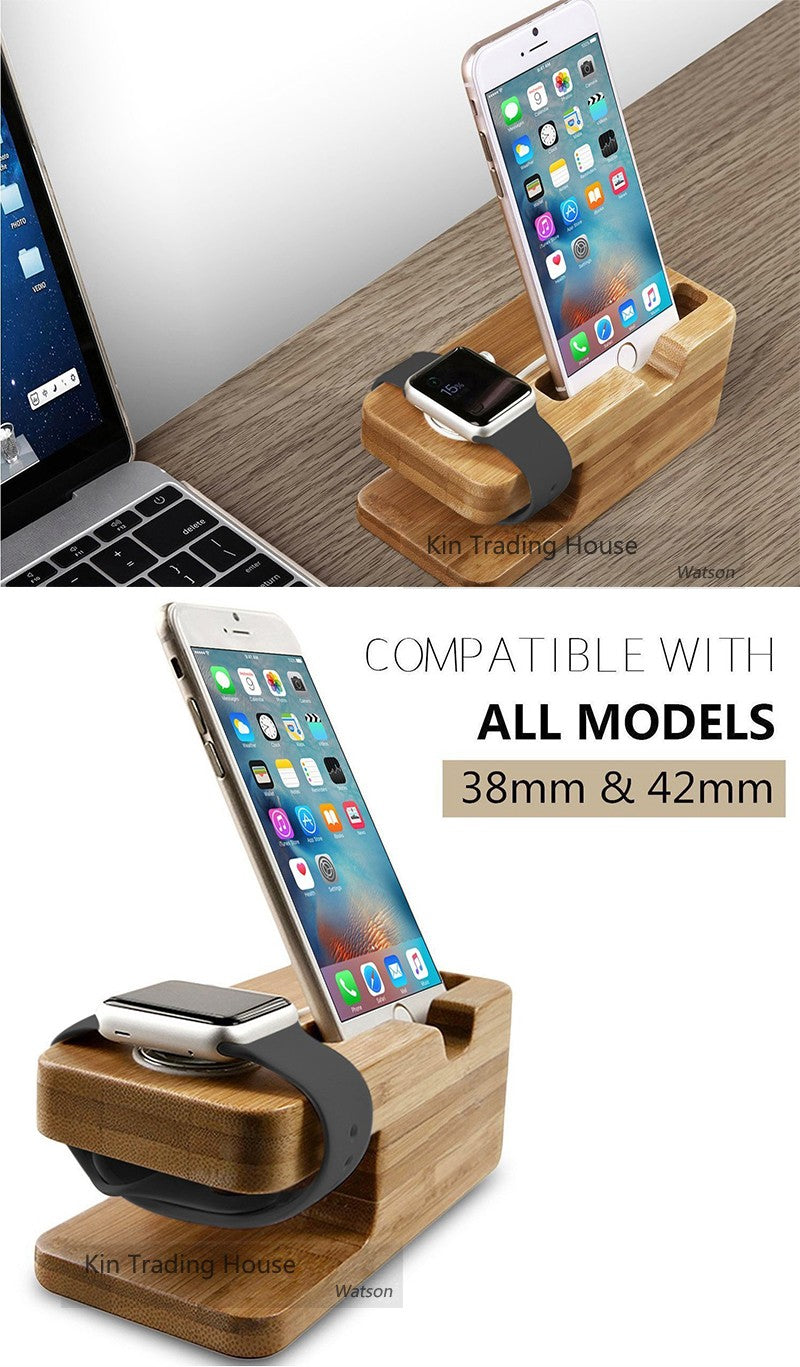 Bamboo Charging Station - GLOBAL TREND INNOVATION