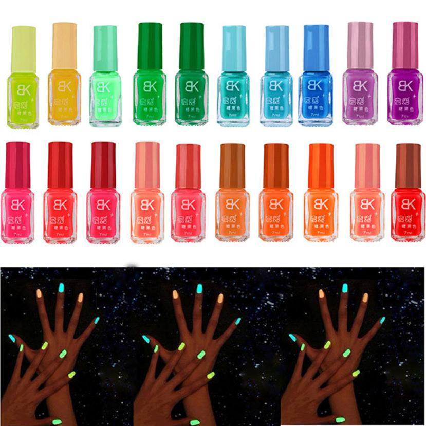 Neon Glow in the Dark Nail Paint - GLOBAL TREND INNOVATION
