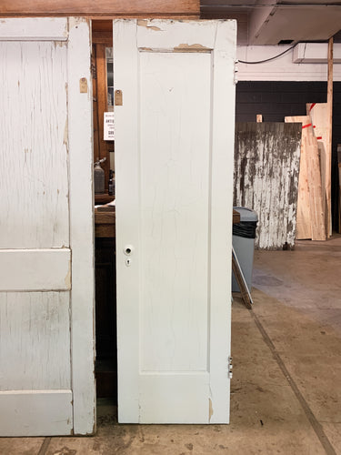 "Antique Solid Wood Single Panel Door - 77 1/2"" x 22 1/2"""